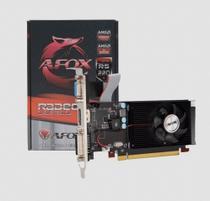 Placa de Vídeo AFOX R5 220 Radeon 1GB DDR3 HDMI DVI VGA PCI-E X16 Low Profile- AFR5220-1024D3L9-V2 -