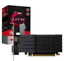 Placa de Vídeo AFOX R5 220 Radeon 2GB DDR3 HDMI DVI VGA PCI-E X16 Low Profile- AFR5220-2048D3L9-V2 -