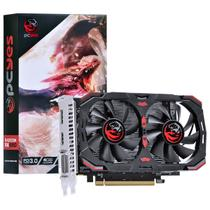 Placa De Vídeo AMD Radeon Pcyes PJ550RX12804G5DF RX 550 4GB GDDR5 Dual Fan
