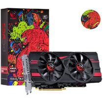 Placa de Video AMD Radeon RX 580 8GB GDDR5 256 BITS DUAL-FAN Graffiti Series - PJ580RX25608G5DF PCYES 32454 -
