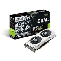 Placa de Video ASUS Geforce GTX 1060 OC 3GB DDR5 - DUAL-GTX1060-O3G -