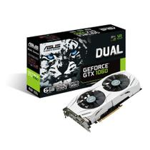 Placa de Video ASUS Geforce GTX 1060 OC 6GB DDR5 192BITS Dual GTX1060-O6G 90YV09X0-M0NA00 -