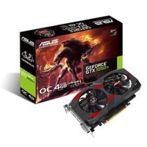 Placa de Vídeo Asus NVIDIA GeForce GTX 1050 Ti OC Cerberus 4GB, GDDR5 - CERBERUS-GTX1050TI-O4G -