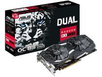 Placa de Vídeo Asus Radeon RX 580 8GB - GDDR5 256 bits Dual DUAL-RX580-O8G