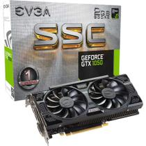 Placa de Vídeo EVGA GeForce GTX 1050 SSC Gaming ACX 3.0 2GB GDDR5 PCI-Express 3.0 02G-P4-6154-KR -