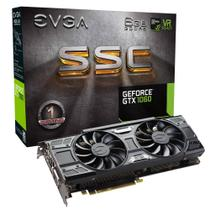 Placa de Vídeo EVGA NVIDIA GEFORCE GTX 1060 6GB SSC ACX 3.0 GDDR5 -