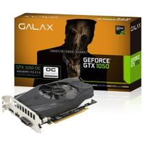 Placa de Vídeo Galax Geforce Performance Nvidia 50NPH8DSN8OC GTX 1050 OC, 2GB, DDR5, 128Bits