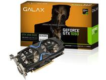 Placa de Video Galax Geforce Performance Nvidia GTX 1050 EXOC 2GB DDR5 128BIT 7008MHZ 1417MHZ 640 Cuda Cores DVI HDMI DP 50NPH8DVN6EC