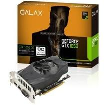 Placa de Video Galax Geforce Performance Nvidia GTX 1050 OC 2GB DDR5 128BIT 7008MHZ 1354MHZ 640 Cuda Cores DVI HDMI DP 50NPH8DSN8OC