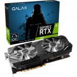 Placa de Vídeo Galax Nvidia Geforce Dual Black 1-Click Ex Oc Edition Rtx 2080 8gb Gddr6 256 Bits -
