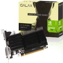 Placa de Vídeo Galax Nvidia GeForce GT 710 2GB - DDR3 64bit  - 71GPF4H100GX - HDMI VGA DVI - Pcyes