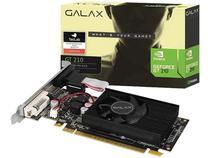 Placa de Vídeo Galax NVIDIA GeForce GT210 - 1GB DDR3 64 bits 21GGF4HI00NP