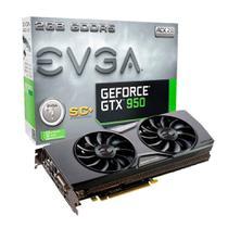 Placa de Vídeo Ge Force GTX 950, 2GB, DDR5 - Evga