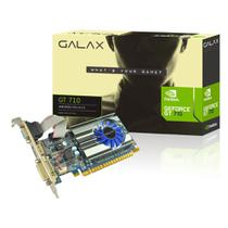 Placa de Vídeo Geforce Galax Mainstream Nvidia 71GPH4HXJ4FN, GT 710, 2GB, DDR3, 64 Bits