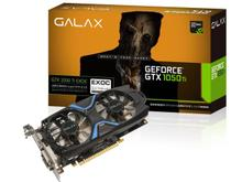 Placa de Vídeo GeForce GTX 1050 Ti EXOC GALAX 4GB GDDR5 128bits Black (50IQH8DVN6EC)