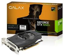 Placa de Vídeo GeForce GTX 1050Ti 4GB DDR5 128bits Overclock Edition Galax 50IQH8DSN8OC