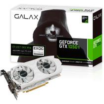 Placa de Vídeo Geforce GTX 1050Ti 4GB GALAX EXOC White 128 Bits Directx 12 Dual Fan - 50IQH8DVP1WT