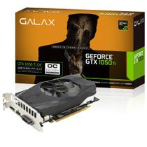 Placa de Vídeo Geforce GTX 1050Ti 4GB GALAX OC 128 Bits Directx 12 Single Fan - 50IQH8DSN8OC
