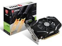 Placa de vídeo geforce msi gtx performance nvidia gtx 1050ti oc 4gb