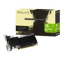 Placa de Vídeo GeForce NVIDIA 1GB DDR3 64 Bits GT 710 Galax -