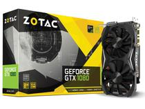 Placa de vídeo geforce zotac gtx entusiasta nvidia gtx 1080 8gb