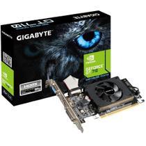 Placa de Vídeo Gigabyte NVIDIA GeForce GT 710 2G, DDR3 - GV-N710D3-2GL (Rev. 2.0) -