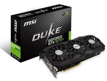 Placa de Video MSI Geforce Entusiasta Nvidia GTX 1070TI Duke 8GB DDR5 256BIT 8008MHZ DVI HDMI DP 912-V330-255