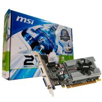 Placa de Vídeo MSI GeForce GT 210 1GB DDR3 64 Bits -