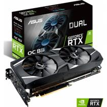 Placa de video nvidia geforce asus dual rtx 2070 8gb gddr6 256bit