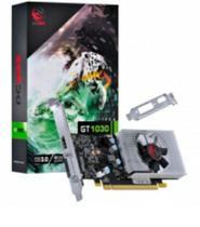 Placa de video nvidia geforce gt 1030 2gb gddr5 64 bits com kit low profile single fan - pp10302048d - Pcyes