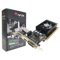 Placa de Vídeo NVIDIA GeForce GT610 2GB DDR3 64-Bits Low Profile Afox - AF610-2048D3L7-V6 -