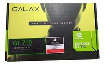 Placa De Vídeo Nvidia Geforce GT710 2GB DDR3 64 Bits - Galax