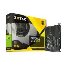 Placa de vídeo - NVIDIA GeForce GTX 1050 (2GB / PCI-E) - Zotac Mini - ZT-P10500A-10L -