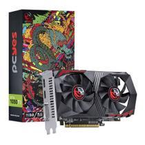 Placa de vídeo - NVIDIA GeForce GTX 1050 TI (4GB / PCI-E) - PCYes - PA1050TI12804G5DF -