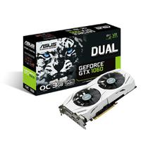 Placa de vídeo - NVIDIA GeForce GTX 1060 (3GB / PCI-E) Asus Dual - 90YV09X3-M0NA00
