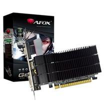 Placa de video pci-e 1gb ddr3 g210 low profile c/dvi/hdmi/vga 64bits af210-1024d3l5v2 afox -