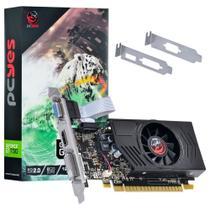 Placa De Vídeo Pcyes Nvidia Geforce GT 730 2Gb DDR3 64 Bits Low Profile -
