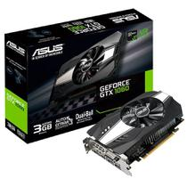 Placa de Vídeo VGA NVIDIA ASUS GEFORCE GTX 1060 3GB GDDR5 PH-GTX1060-3G 90YV0A64-M0NA00 -