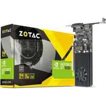 Placa de Vídeo VGA NVIDIA Zotac GEFORCE GT 1030 Mainstream 2GB 64 Bit GDDR5 ZT-P10300A-10L