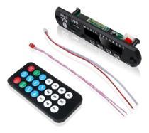 Placa Decodificador Usb P/ Caixa Ativa Mp3 Fm Aux Bluetooth - Firstoption