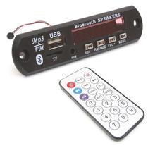 Placa Decodificador Usb P/ Caixa Ativa Mp3 Fm Aux Bluetooth - Jk