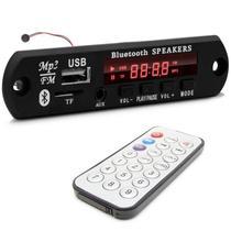 Placa Decodificadora FM/USB/Auxiliar/Bluetooth + Controle Remoto - Eletrogate