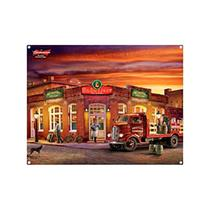 Placa Decorativa Budweiser - Bar - All classics