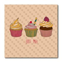Placa Decorativa - Cupcake - 0293plmk - Allodi