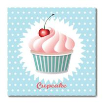 Placa Decorativa - Cupcake - 0772plmk - Allodi