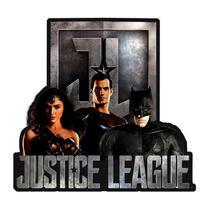 Placa Decorativa em Alumínio Liga da Justiça 41407 Urban -