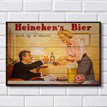 Placa Decorativa em MDF com 20x30cm - Modelo P101 - Cerveja - R+ adesivos
