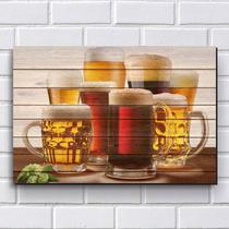 Placa Decorativa em MDF com 20x30cm - Modelo P121 - Cerveja - R+ adesivos