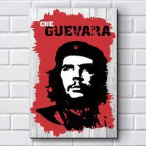 Placa Decorativa em MDF com 20x30cm - Modelo P230 - Che Guevara - R+ Adesivos