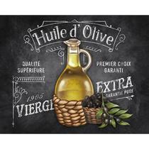 Placa Decorativa Huile D Olive 24x19cm DHPM-129- Litoarte -